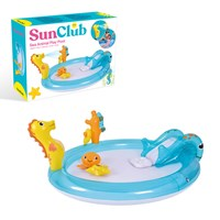 Sun Club 2M Sea Animal Play Pool with Water Spray