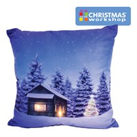 Christmas LED Cushion - Silent Night