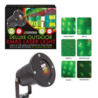 Deluxe Xmas Outdoor Laser Light - 6 Patterns