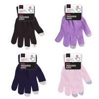 Magic Glove W/Touch Screen Finger - 4 LadiesAsstds