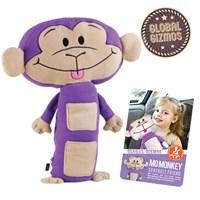 Mo Monkey Seatbelt Friend
