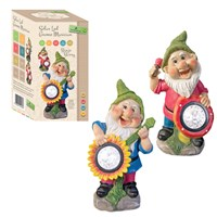 Musical Gnome With Solar Lights