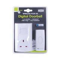Plug-In Wireless Door Chime