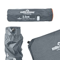Self Inflating Mat - 3.5CM - Charcoal