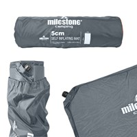 Self Inflatable Mat - 5CM - Charcoal
