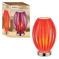 Stylish Table Lamp - Red