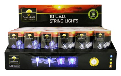10 LED Dragonfly/Butterfly Lights