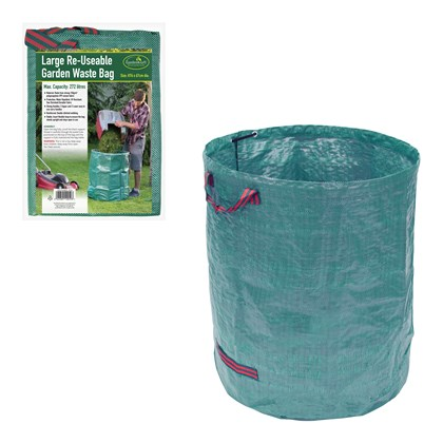 1PK Of 272L Garden Waste Bag - No Onliners