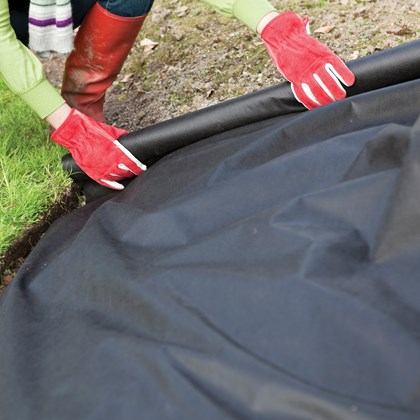 1M x 50M Roll Woven Weed Control Fabric Cover