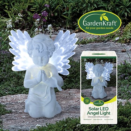 Solar LED Angel Light