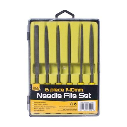 6pc 140mm Needle File Set