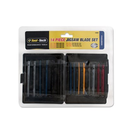 14pc Jigsaw Blade Set Assortment