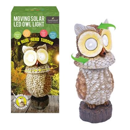 Solar Owl Spot Light With Moving Head