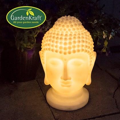 Solar Buddha Head