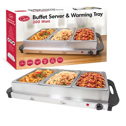 Large Buffet Server & Warming Plate