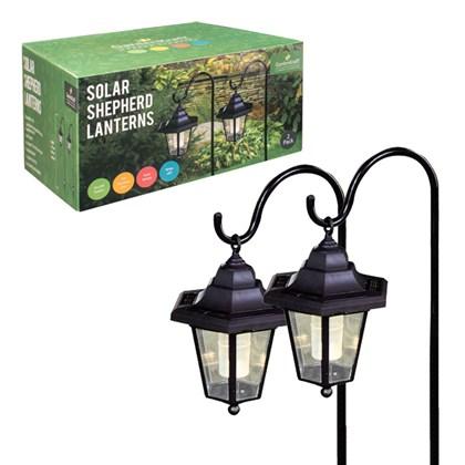 2pc Solar Shepherd Lantern