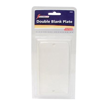 2-Gang Blank Plate