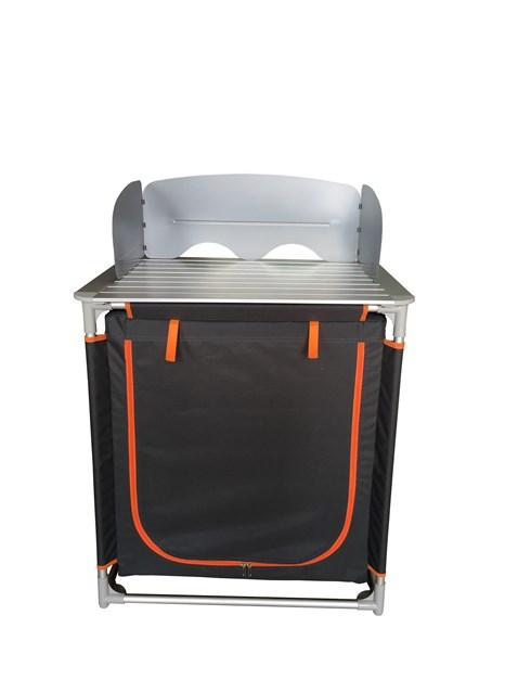 Camping Kitchen - Windshield & Single Unit Cabinet