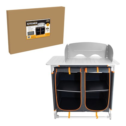 Camping Kitchen -Windshield, side table & Storages