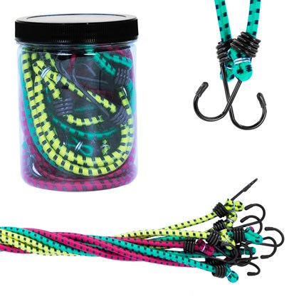 9pcs Bungee Rope Set
