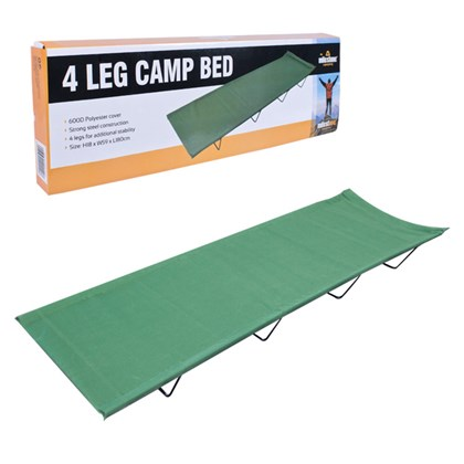 4 Legs Folding Camping Bed