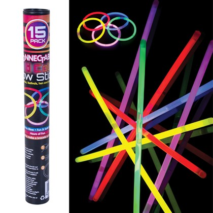 15 Connectable Glow Sticks
