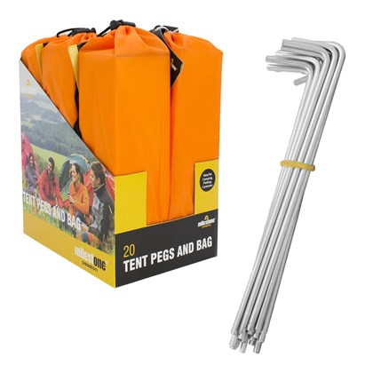 20 Tent Pegs