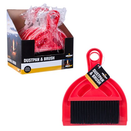 Tent Dustpan and Brush