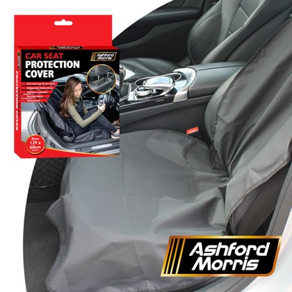 Waterproof Car Seat after Gym Cover   - Black