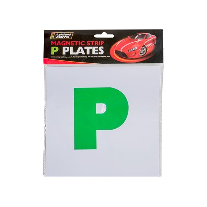 2pk Magnetic P Plates