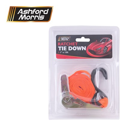 "1"" X 15ft Ratchet Tie Down"