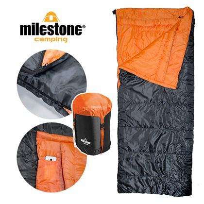 Single Envelope Sleeping Bag - 400gsm - 3 Seasons