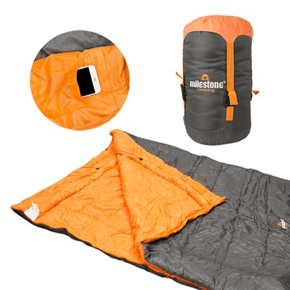 Double Envelope Sleeping Bag- Dble Insulated 400gm
