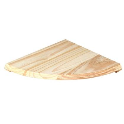 28.5cm x 28.5cm Pine Wood Corner Shelf