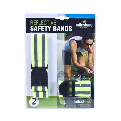 2pk Reflective Safety Bands