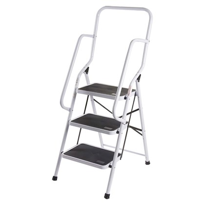 3 Step Ladder W/Safety Handles