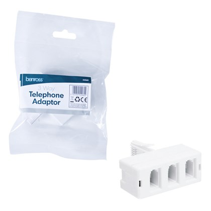 3-Way Phone Adaptor