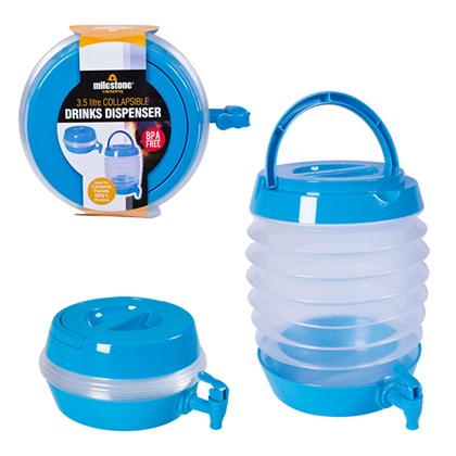 3.5L Collapsible Beverage Dispenser