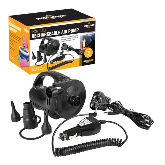 Portable Rechargeable Air Pump-AC240V/DC12