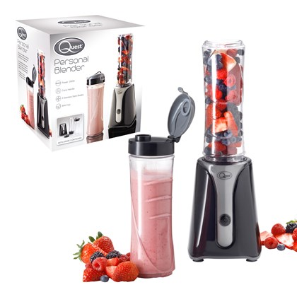 Personal Blender BPA Free - Black & Grey