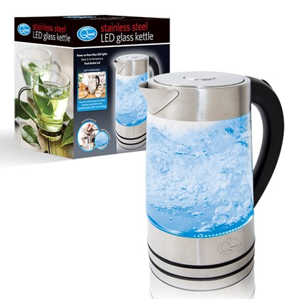 LED Stainless Steel Kettle - 2200w