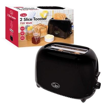 2-Slice Toaster - Black