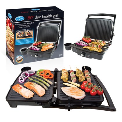 180° Duo Health Grill - Press or Open Grill