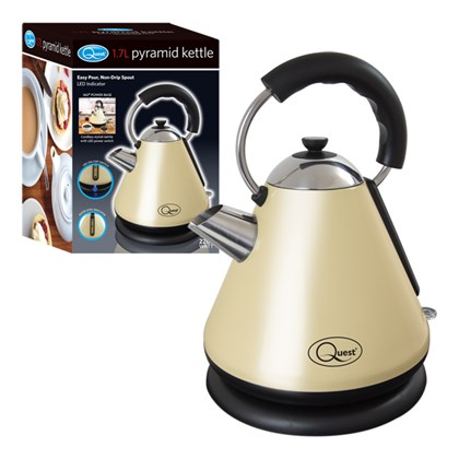 2200w Pyramid Kettle - Cream