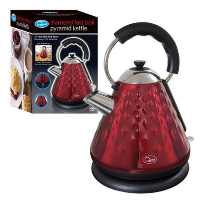 3000w Pyramid Diamond Kettle - Red