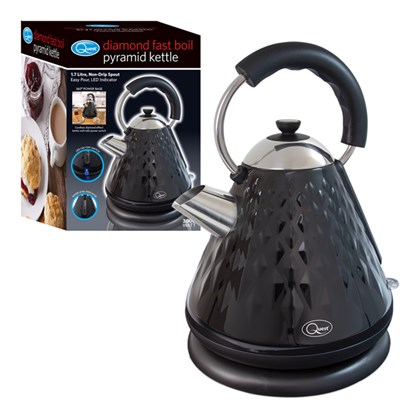 3000w Pyramid Diamond Kettle - Black