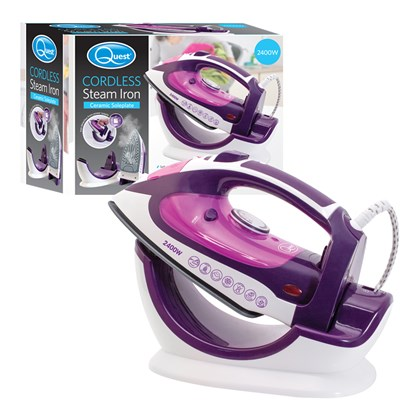 Cordless/Corded Steam Iron - 2400w