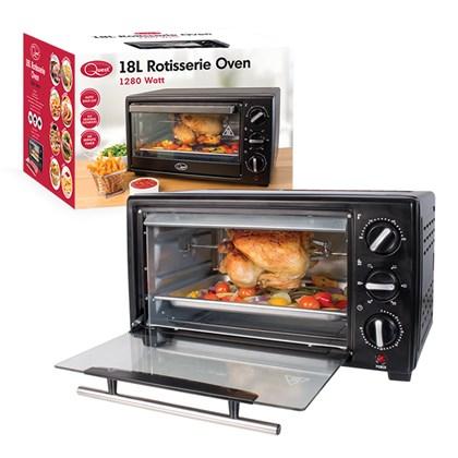 18 Litre Oven W/Rotisserie