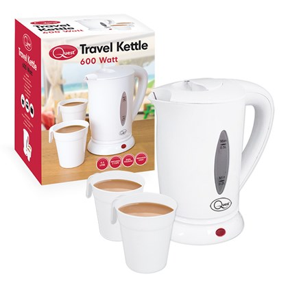 0.5L Travel Kettle - White