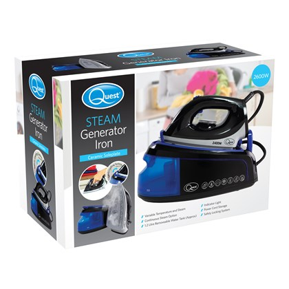 2400W Steam Generator Iron - Blue